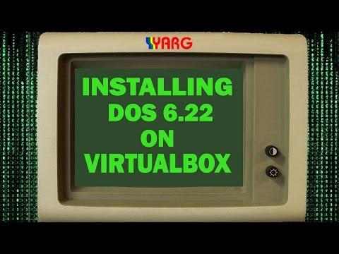 How to run and setup DOS 6.22 under VirtualBox