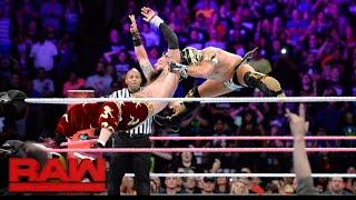 Enzo Amore vs. Kalisto - WWE Cruiserweight Championship Lumberjack Match: Raw, Oct. 9, 2017