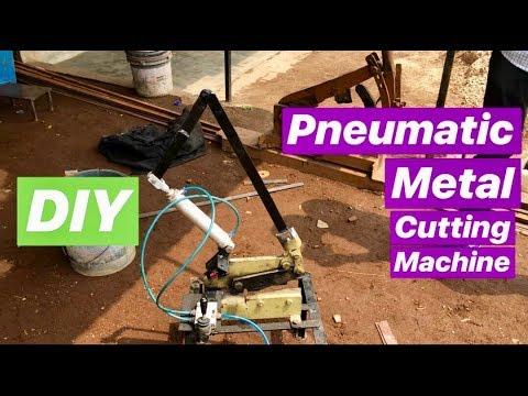 pneumatic Heavy Metal Cutting Machine
