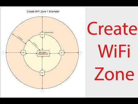 How To Create Long Wifi Zone In Bangla - কিভাবে ওয়াইফাই জোন বানাবেন