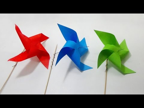 How To Make A Windmill With Paper | Easy And Simple Steps |
