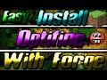 Install Optifine with other mods - Optifine with Forge