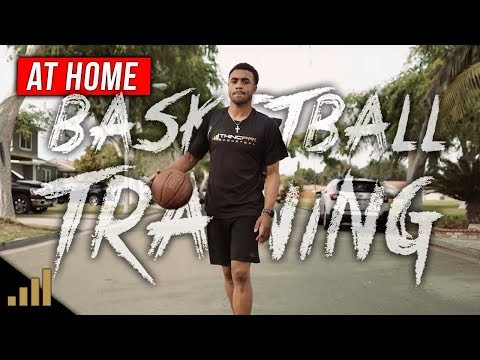 GET BETTER FAST!!! 5 Minute Basketball Training Routine You Can Do AT HOME By Yourself!