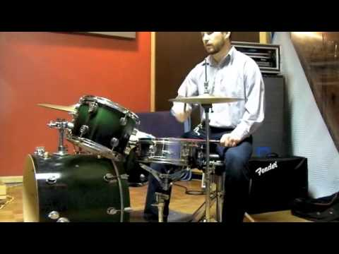 MixTrix - How To Play an Old School Hip Hop Beat on Drums Using Shuffle Groove on Kick Drum
