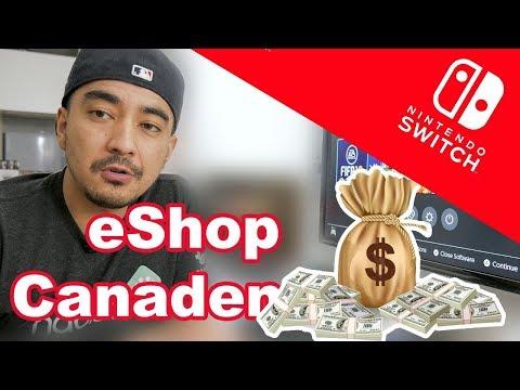[Nintendo Switch] Comprando jogos na Nintendo eShop Canadense