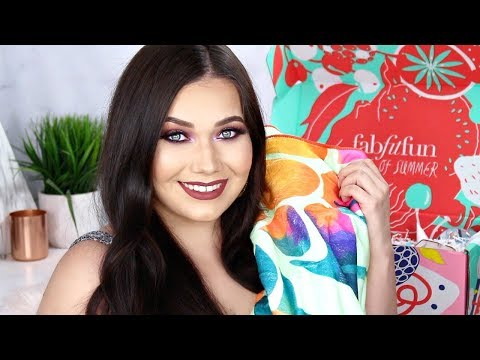 FabFitFun Unboxing! Summer 2018 Edition