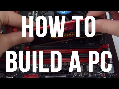 HOW TO BUILD A PC - Beginners Guide