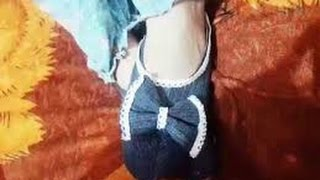 DIY | Recycle Old Jeans Into Cute, New Sandals (jutti )
