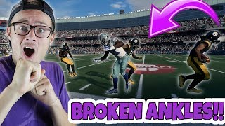 JUKE MOVE DESTROYED HIS ANKLES AND MADE HIM LOOK SILLY!! Madden 18 RTE