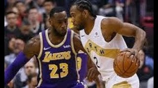 Los Angeles Lakers vs Toronto Raptors_NBA Highlights_(March 14th 2019)