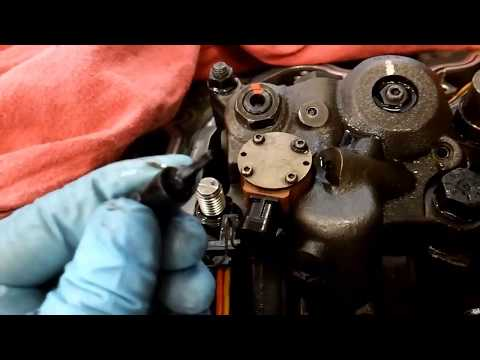 How To Remove and Install An IVA or VVA Solenoid.  Cat C11, C13, and C15.