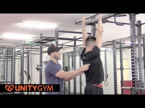Build A Stronger Back   Bodyweight Exercise   FMS Pronated Grip Pull Up TUTORIAL