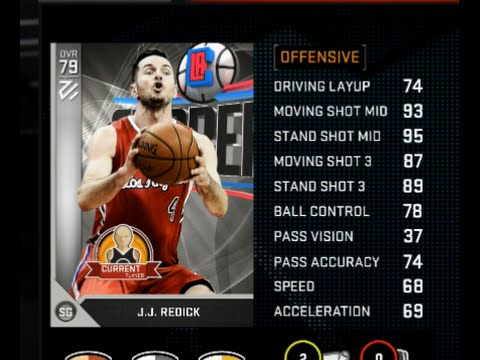 NBA 2K16 - RTP 7th Seed - JJ Redick Best Silver Card??