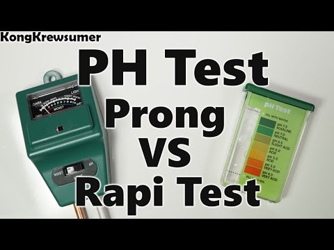 RapiTest VS Prong PH Test Comparison! How to Fix your grass!