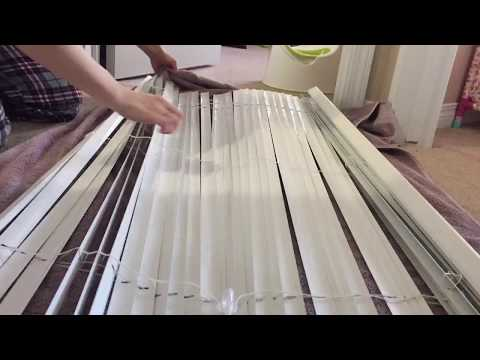 EASIEST WAY TO CLEAN BLINDS // NO SCRUBBING // HOW TO CLEAN YOUR BLINDS