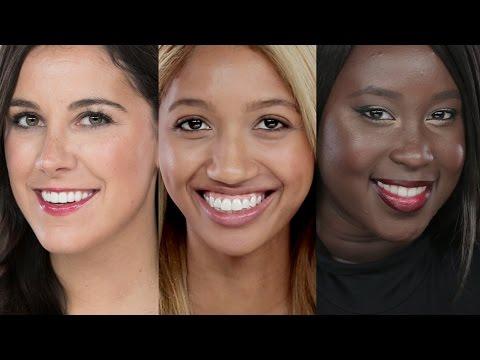 Lipstick Swatches for Light/Medium/Dark Skin Tones
