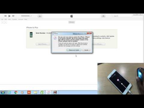 RESTORE A DISABLE IPHONE 4S/5/5S/6/6S OR IPAD    SOLUTION ITUNES  ERROR 3014/3008/3194/1011/4013  