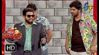 Hyper Aadi, Raising Raju Performance | Jabardasth | 19th April 2018 | ETV  Telugu