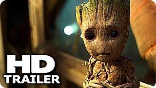 "GUARDIANS OF THE GALAXY 2 ""Baby Groot vs Baby Dinosaurs"" Trailer (2017) Chris Pratt Marvel Movie HD"