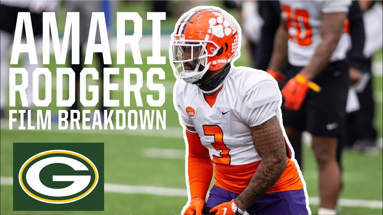 Green Bay Packers WR Amari Rodgers Film Breakdown (Clemson)