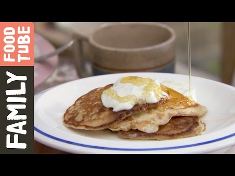 Easy Family Pancakes  | Jamie Oliver #TBT