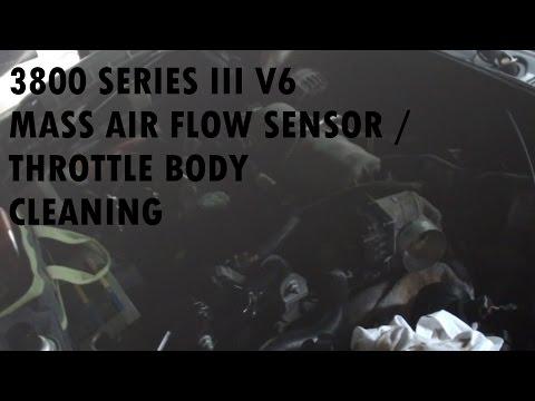 Mass Air Flow Sensor & Throttle Body Cleaning (2008 Pontiac Grand Prix)