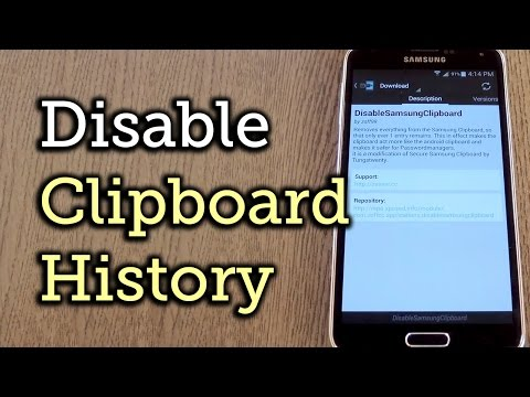 Secure Your Samsung Device by Removing the Clipboard History [How-To]