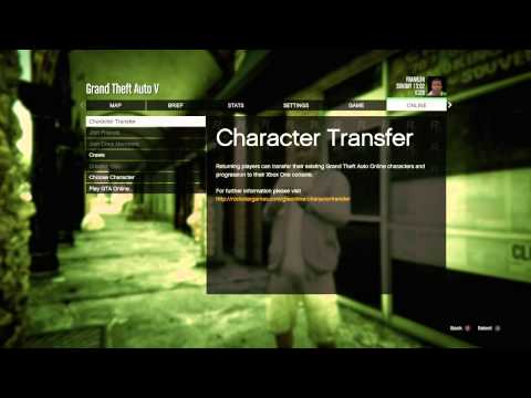 can i transfer gta online from xbox one to pc