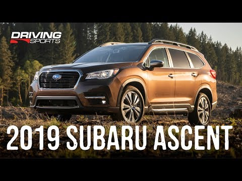2019 Subaru Ascent All-New 3-Row SUV Full Review