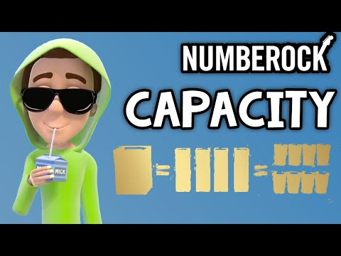 Capacity Song For Kids ★ Measurement Video by NUMBEROCK