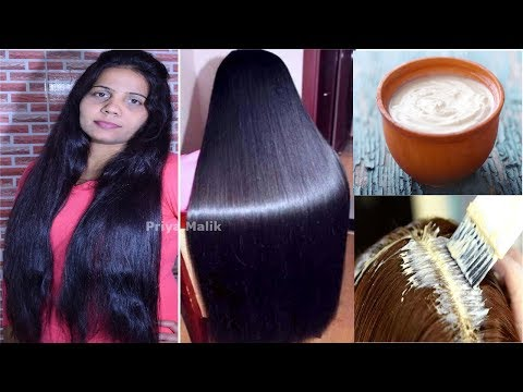 Get Shiny, Silky, Soft, Smooth Hair Naturally | Homemade Hair Mask for Dry Frizzy Hair | Priya Malik