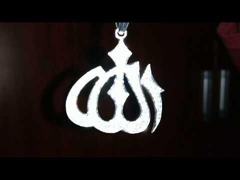 Allah Pendant 925 sliver Pune