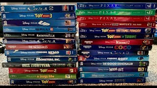 My Complete Disney/Pixar 4K Blu-Ray DVD Collection - February 2019 Update