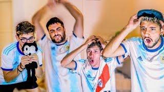Reacciones de Amigos   Argentina vs Brasil   SEMIFINAL Copa America 2019