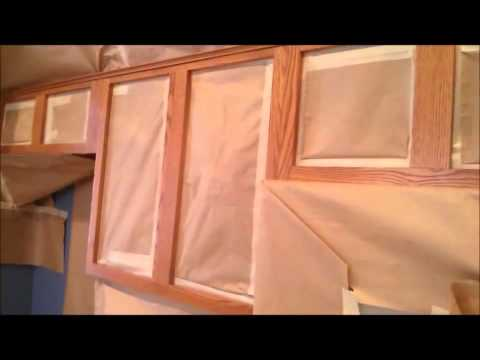 How to Refinish Cabinets   REFACING CABINETS