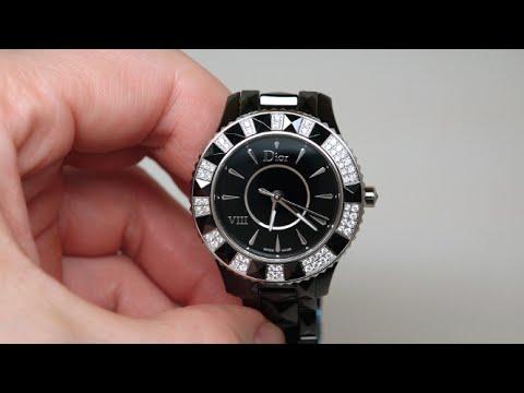 1360e5fb97e0 Christian Dior Dior Vlll Women s Watch Review Model  CD1231E1C001