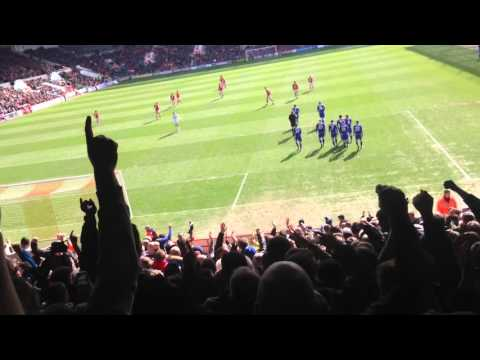 Cardiff fans at Bristol
