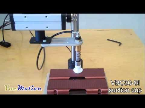 Plastic case pick n place   VBC30 SI suction cup