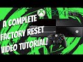 What happens when you factory reset your xbox?