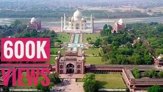 Taj Mahal from drone