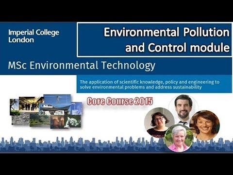 Environmental Pollution and Control Module (2015)
