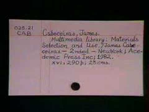 Library Cataloguing Practice Part-1