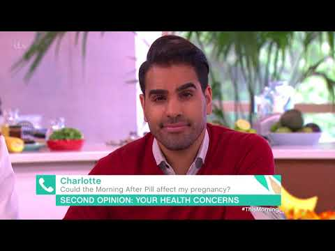 Could The Morning After Pill Affect My Pregnancy? | This Morning
