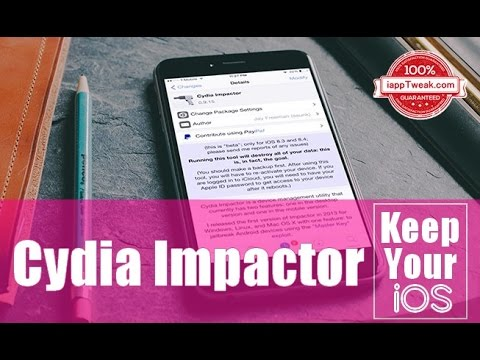 "Cydia Impactor : Remove jailbreak ""unjailbreak"" without updating to latest iOS version"