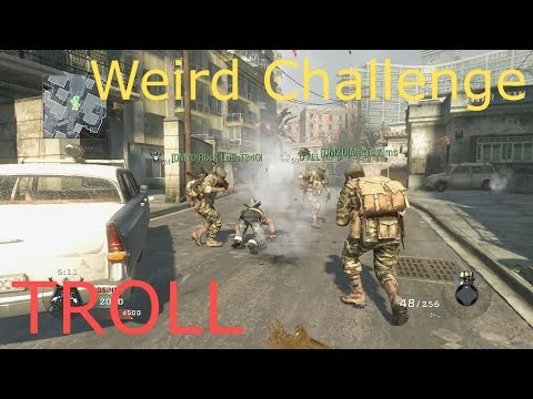 Call Of Duty BO1 DALLMYD's weird challenge Trolling Blooper