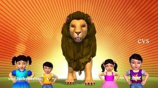 Animals Finger Family | Finger Family song | Kids Songs | Animal Nursery Rhymes for Children