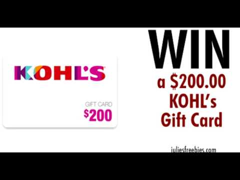 Participate in our Survey To RECIEVE a Complimentary KOHL'S GIFT CARD!!