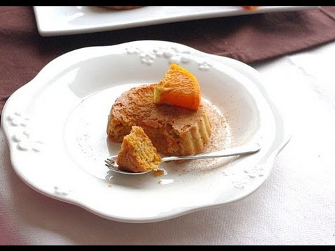 Recette de gâteau aux carottes, orange et cannelle  Carrot cake, orange and cinnamon recipe