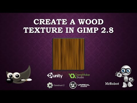 How to Create A Wood Texture in Gimp 2.8 - Game Art and Development