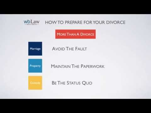 How To Prepare For Your Divorce With Children
